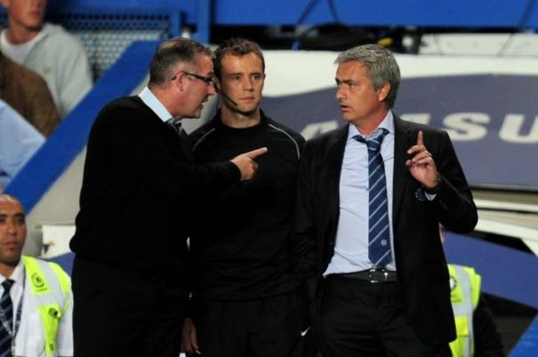 Jose Mourinho, Paul Lambert, Chelsea FC, Aston Villa, English Premiership